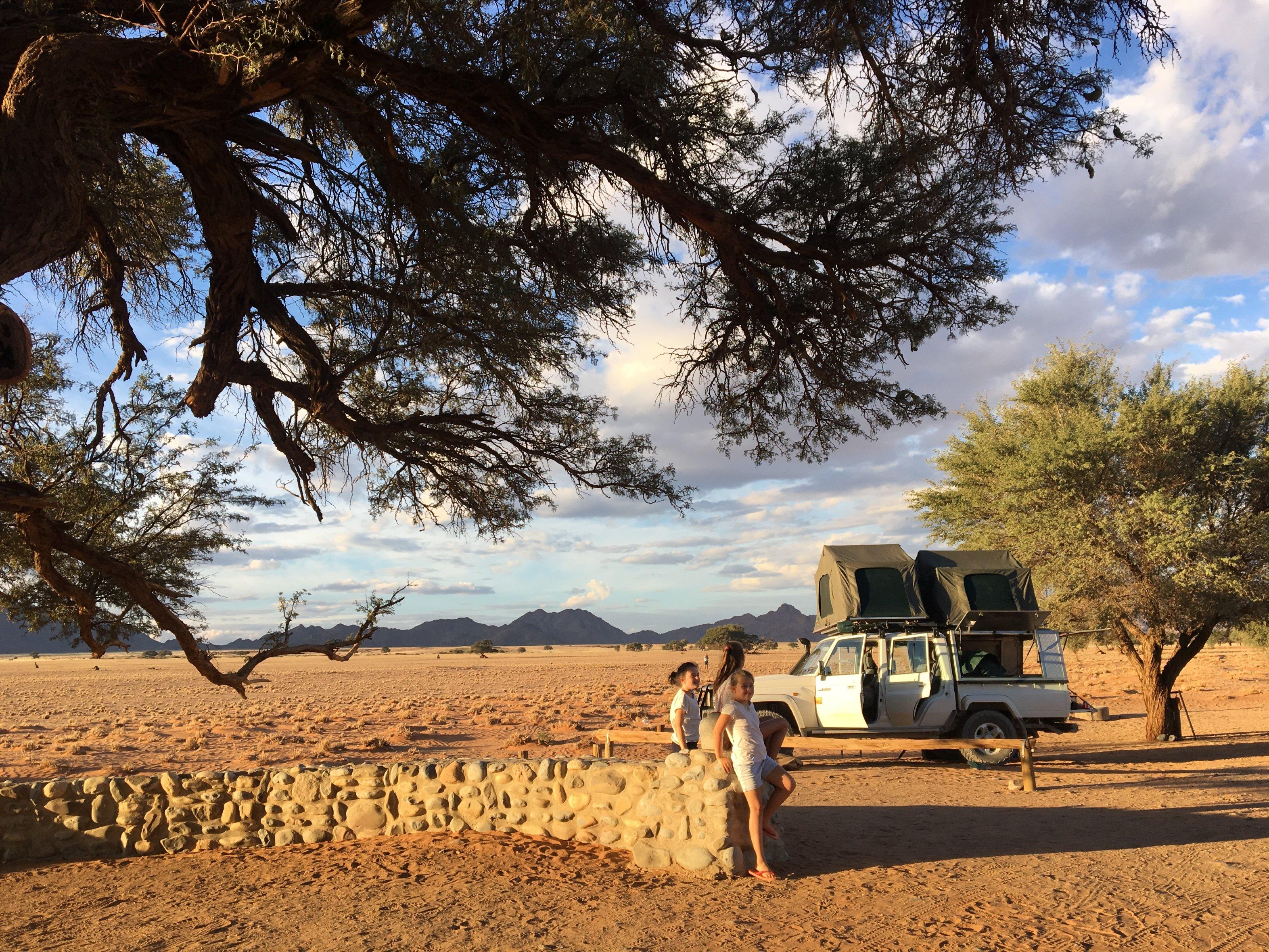 Namibie: Guide du camping