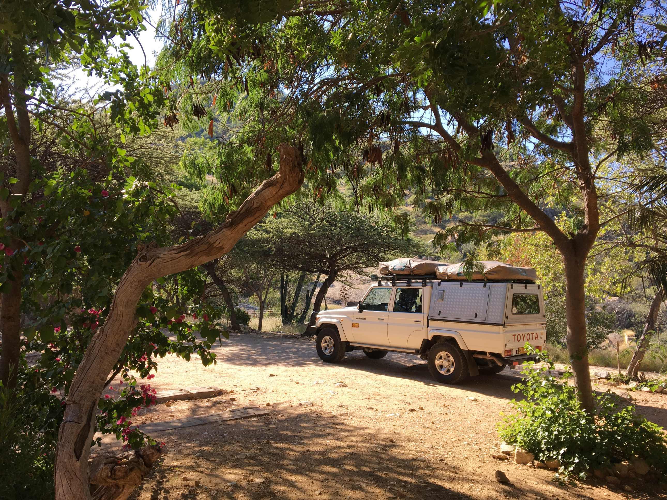 Weavers Rock campsite 4