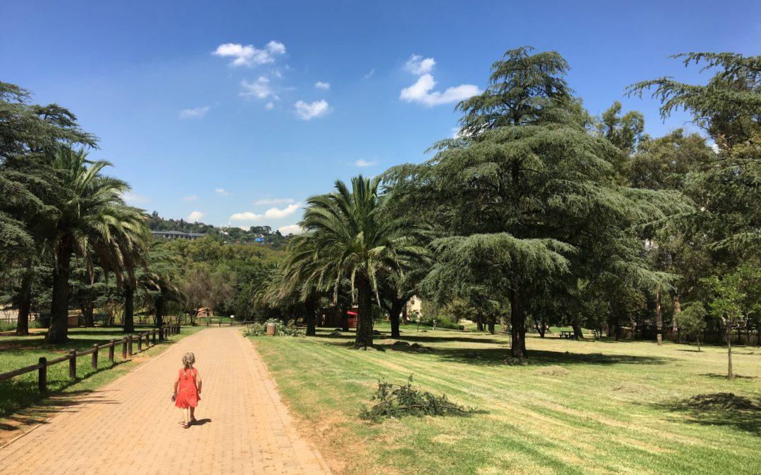 Une journée au zoo de Johannesburg