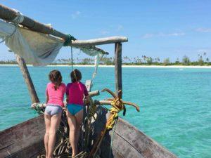 Dhow sailing safari