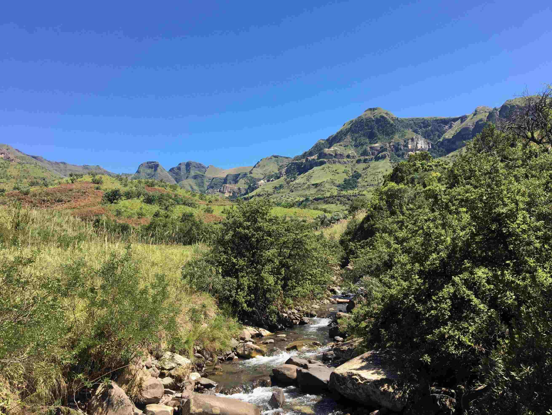 Dans les montagnes du Drakensberg