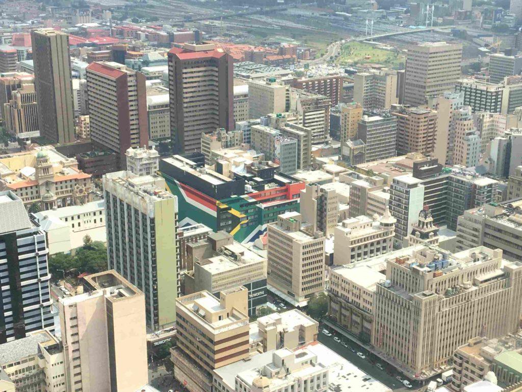 Johannesburg vue