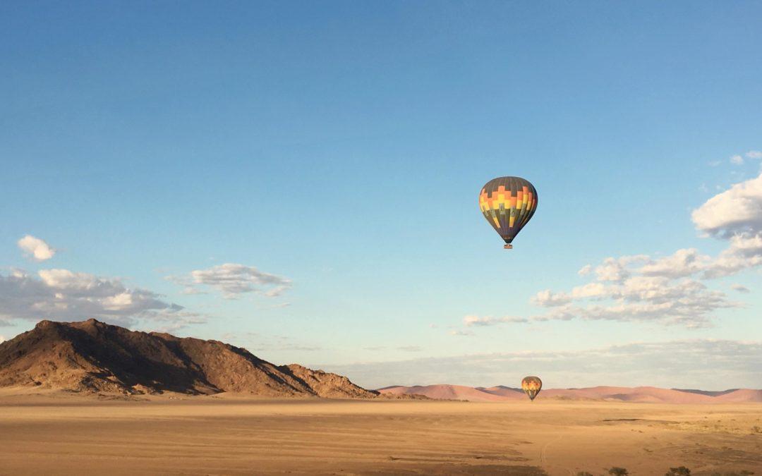 montgolfiere namibie