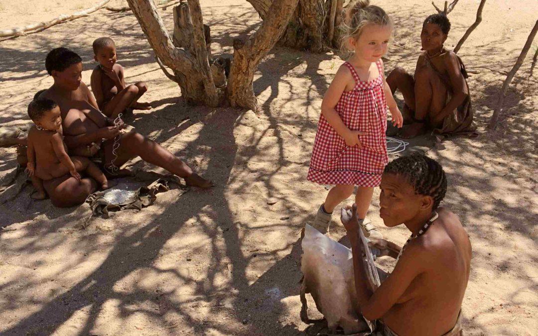 Namibie: Notre rencontre avec les San