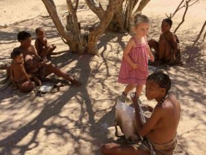 Namibie San