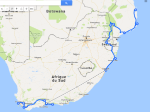 itinéraire 3 semaines Afrique du Sud