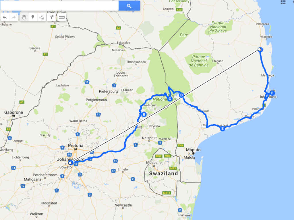 Afrique du Sud itinéraire 15 jours
