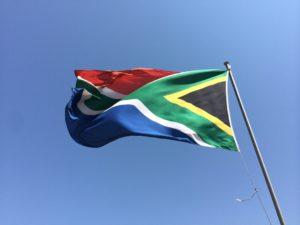 Johannesburg drapeau