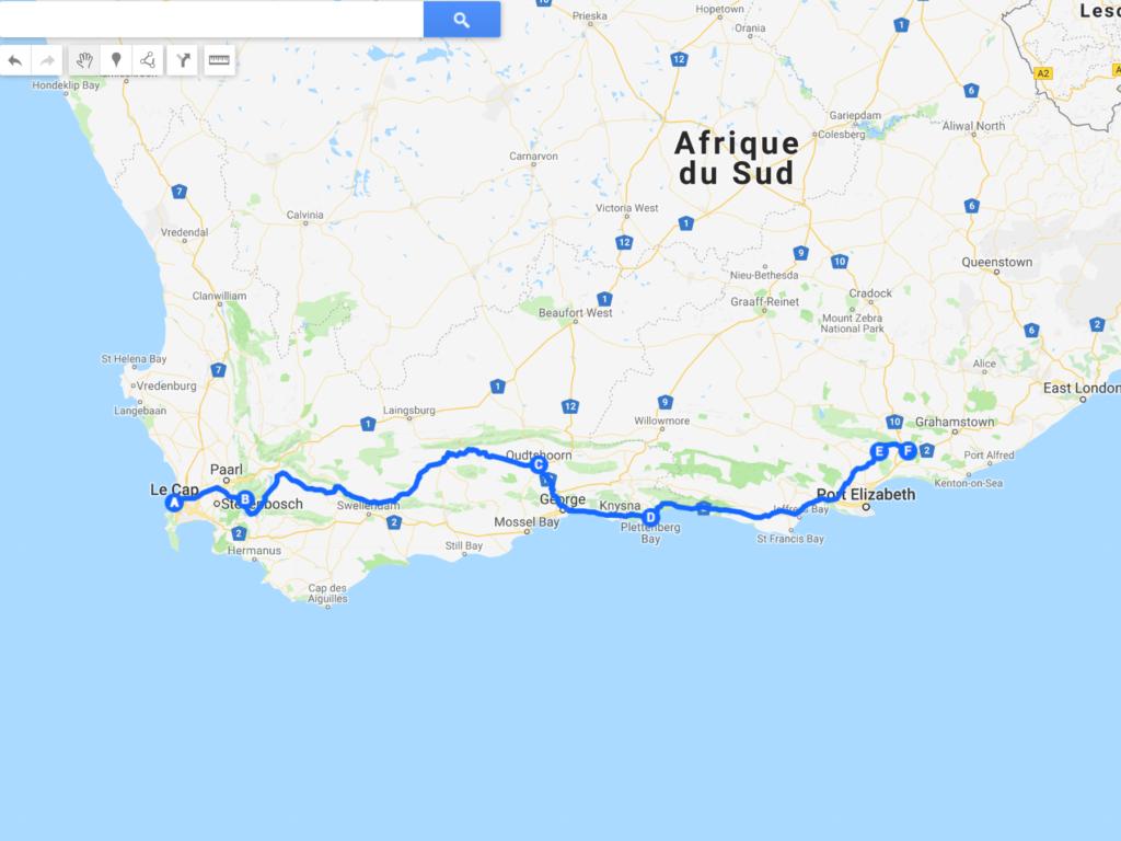 itinéraire 2 semaines Afrique du Sud
