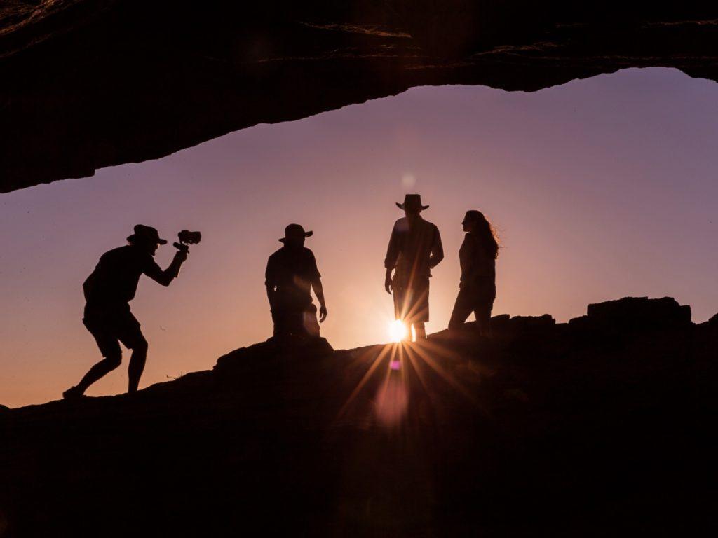 Tournage Namibie