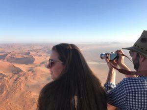 Montgolfière Namibie