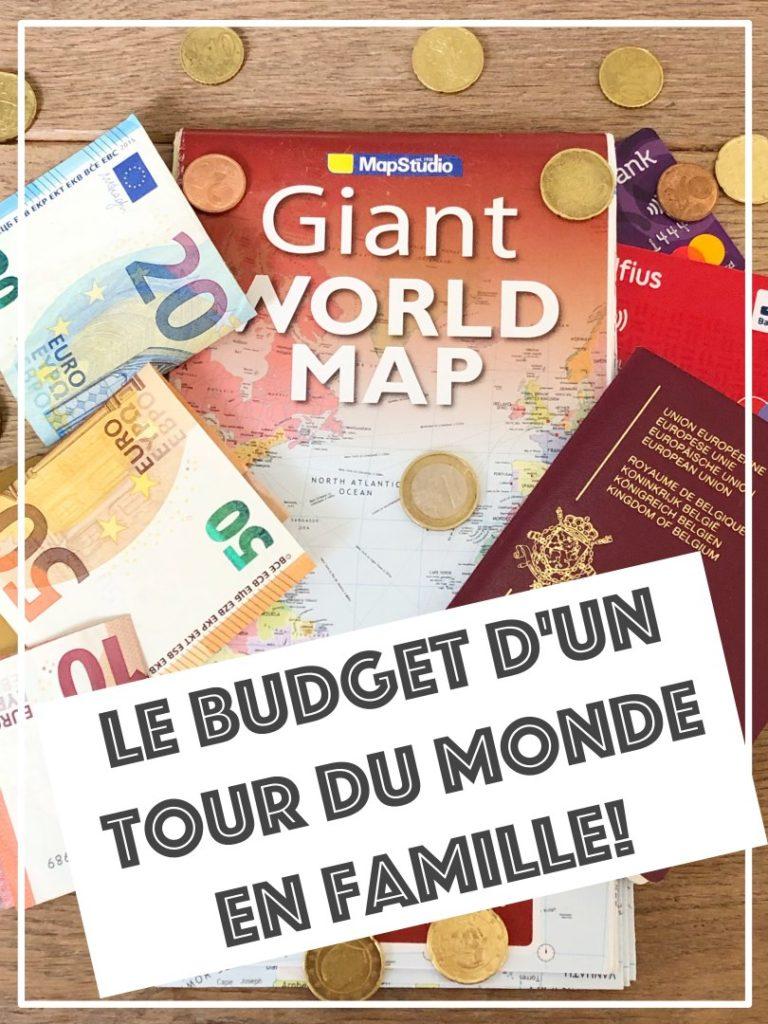 Budget Tour du monde en famille