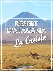Désert Atacama Guide