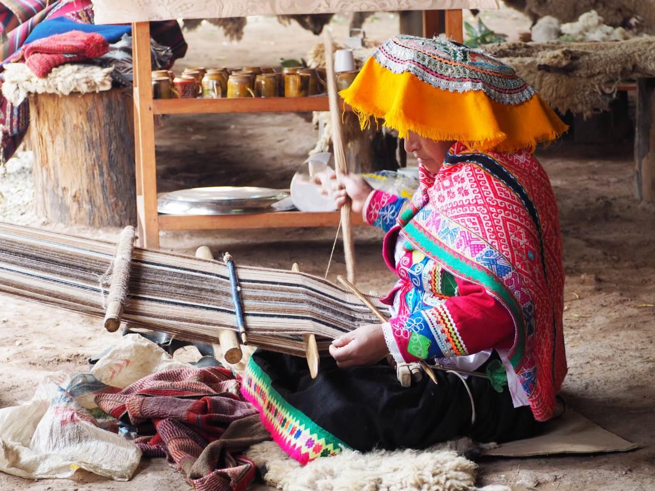 Tissage Pérou